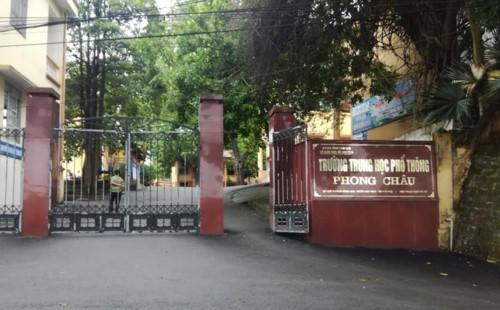 """Bộ GD-ĐT yêu cầu sớm làm rõ thông tin nhạy cảm """"nam sinh trường THPT Phong Châu làm 4 bạn nữ có bầu"""""""