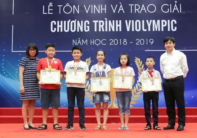 Hơn 1.000 thí sinh phía Bắc nhận giải thưởng trong cuộc thi Violympic 2019