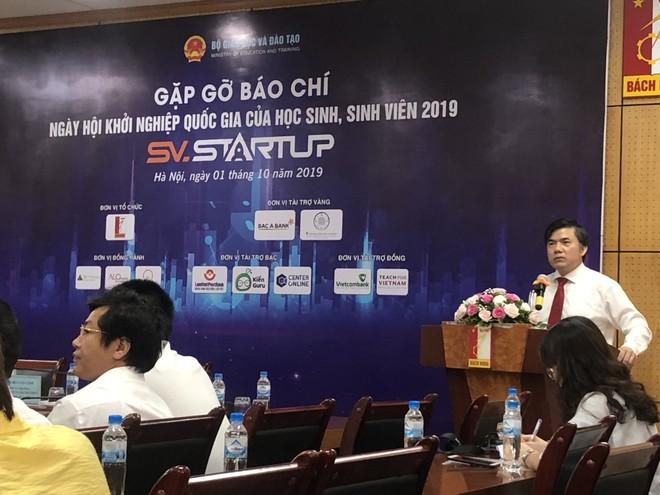 Chung kết SV.STARTUP 2019 sẽ diễn ra vào ngày 5-10