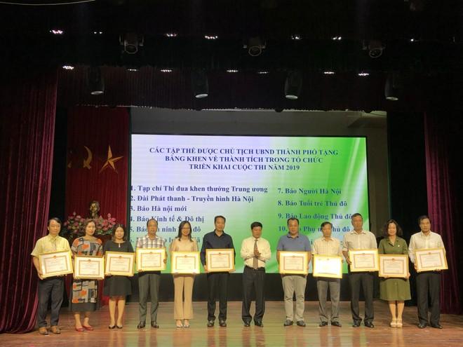 Báo An ninh Thủ đô được nhận Bằng khen của Chủ tịch UBND thành phố về thành tích trong tổ chức thực hiện tốt cuộc thi
