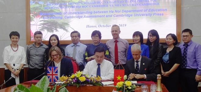 Hà Nội tạo cơ hội cho gần 1.000 học sinh phổ thông công lập lấy song bằng trong nước và quốc tế