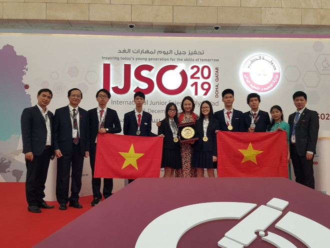 Đội tuyển Việt Nam đoạt 03 huy chương Vàng, 03 huy chương Bạc tại Kỳ thi IJSO 2019