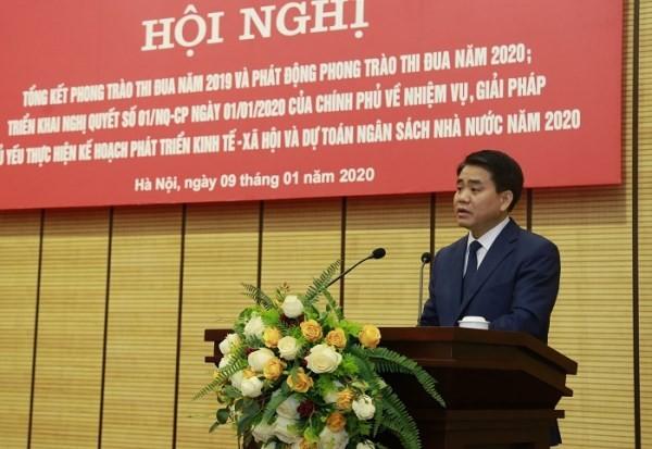 Chủ tịch UBND TP Nguyễn Đức Chung cho biết, năm 2019 Hà Nội có mức đầu tư nước ngoài cao nhất sau 30 năm mở cửa và hội nhập