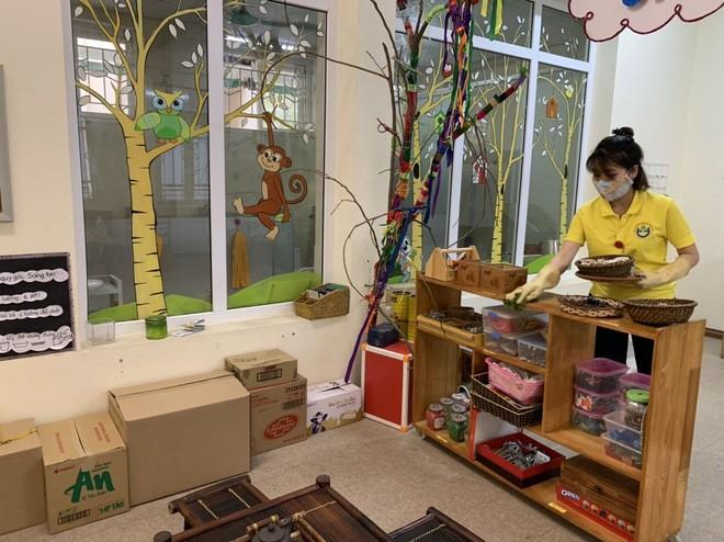 Các trường học Hà Nội đều tích cực chuẩn bị vệ sinh cơ sở vật chất chờ học sinh đi học trở lại