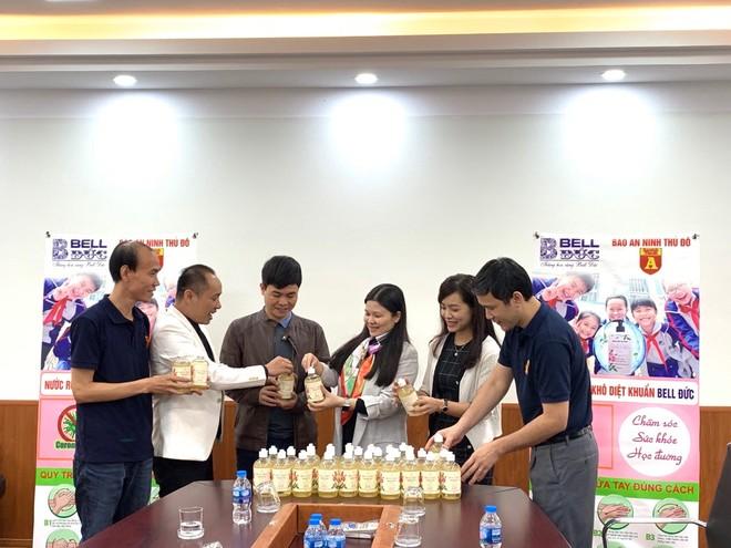Trường THCS Nguyễn Du đánh giá cao món quà thiết thực thời điểm diễn ra dịch bệnh Covid-19