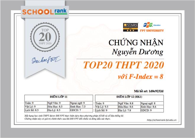 Lần đầu tiên Việt Nam có công cụ xếp hạng học sinh THPT toàn quốc