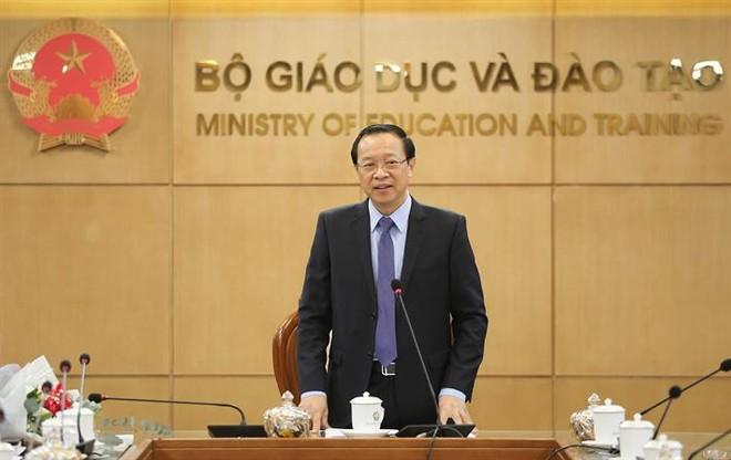 Thứ trưởng Bộ GD-ĐT Phạm Ngọc Thưởng khẳng định Bộ sẽ tiếp tục đưa ra các giải pháp tháo gỡ khó khăn cho giáo dục ngoài công lập