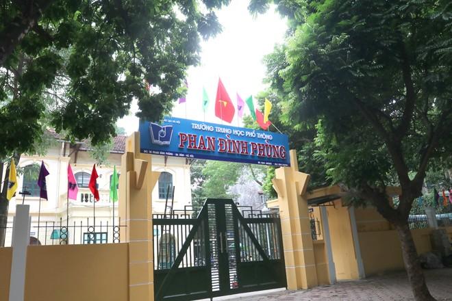 Sở GD-ĐT Hà Nội đã xác minh vụ thí sinh không được dự thi tại điểm thi trường THPT Phan Đình Phùng