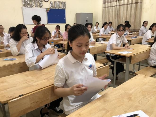 Đáp án chính thức đề thi tuyển sinh lớp 10 THPT công lập Hà Nội 2020 sẽ được công bố hôm nay