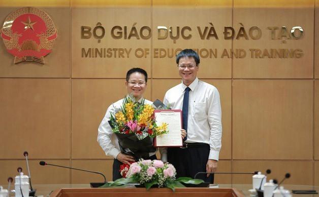 Ông Nguyễn Việt Hùng được bổ nhiệm Phó Chánh văn phòng Bộ GD-ĐT tháng 7/2019
