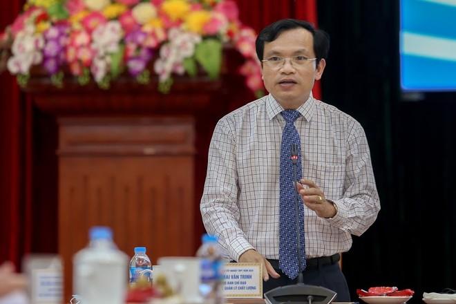 Ông Mai Văn Trinh thông tin về việc 126 thí sinh phải thi lại đề dự bị do lỗi giám thị