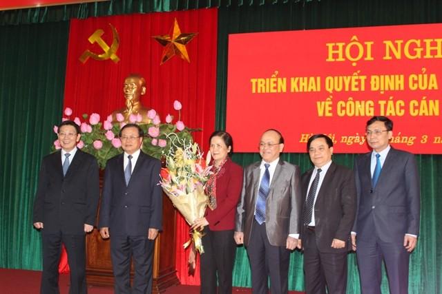 Lãnh đạo TP Hà Nội, Ban Dân vận Trung ương chúc mừng đồng chí Ngô Thị Doãn Thanh giữ cương vị công tác mới