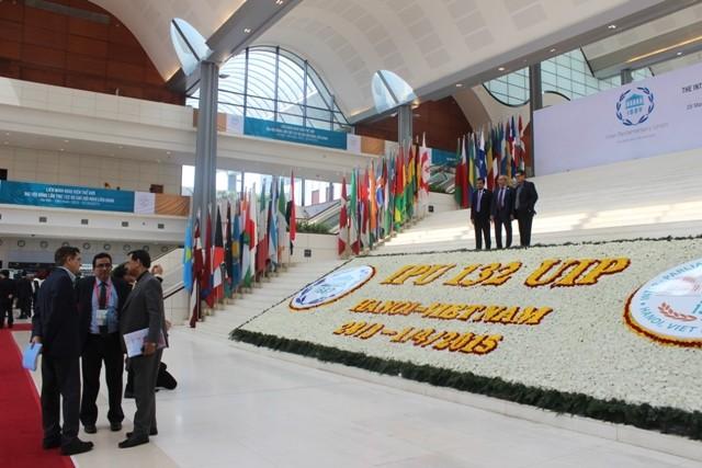 Các nghị sĩ dự IPU 132 đều đánh giá cao khâu tổ chức của Việt Nam