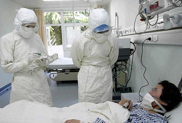 Điều trị cho bệnh nhân mắc hội chứng viêm đường hô hấp do Mers-Cov tại Hàn Quốc (Ảnh internet)