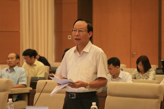 Thượng tướng Lê Quý Vương, Thứ trưởng Bộ Công an làm rõ một số nội dung tại phiên thảo luận