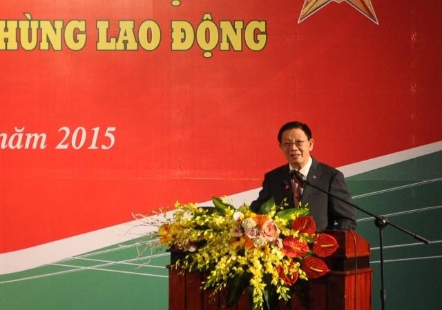 Chủ tịch UBND TP phát biểu tại buổi lễ