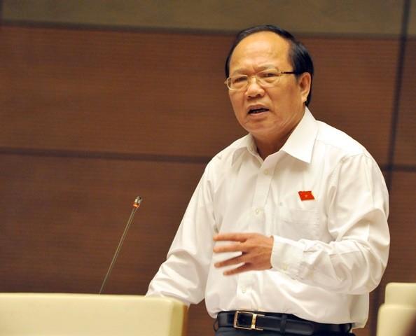 Bộ trưởng Bộ VH-TT&DL Hoàng Tuấn Anh (Ảnh: Phú Khánh)
