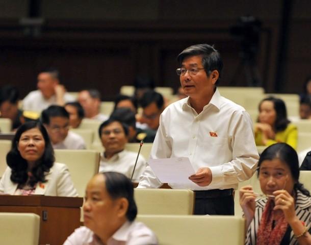 Phần trả lời chất vấn của Bộ trưởng Bùi Quang Vinh rất thẳng thắn, rõ ràng