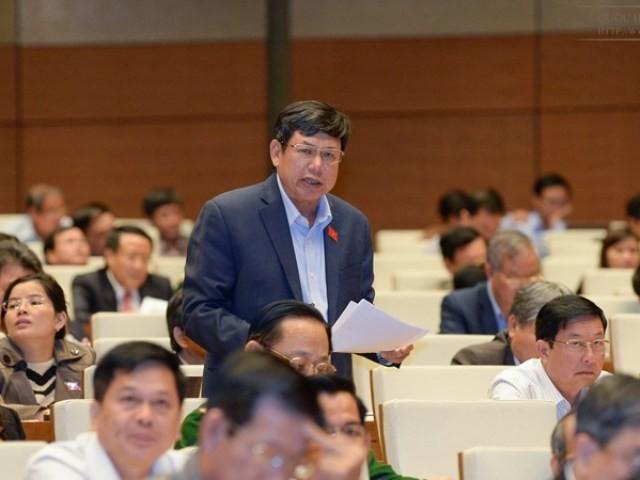 ĐBQH Lê Nam (đoàn Thanh Hóa) phát biểu đầy trăn trở về nhiệm kỳ Quốc hội khóa XIII