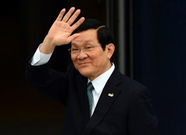 Chủ tịch nước Trương Tấn Sang chính thức được Quốc hội đồng ý cho miễn nhiệm (Ảnh minh họa)