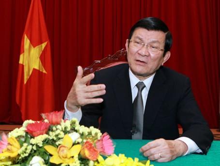 Sáng nay, Quốc hội thảo luận tờ trình miễn nhiệm Chủ tịch nước với ông Trương Tấn Sang