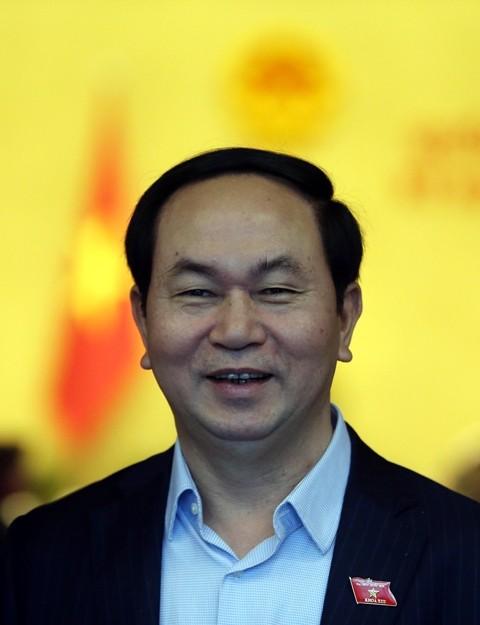 Ông Trần Đại Quang được giới thiệu để bầu vào chức danh Chủ tịch nước
