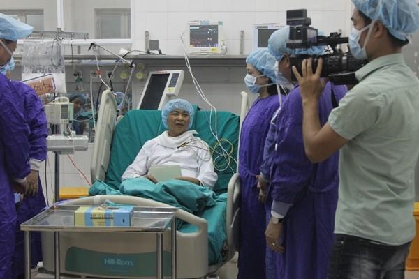 """Bệnh nhân sau khi được ghép tạng """"xuyên Việt"""" đã hồi phục"""