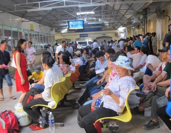 Bệnh viện K Trung ương cơ sở 1 vẫn thường xuyên quá tải (ảnh minh họa)