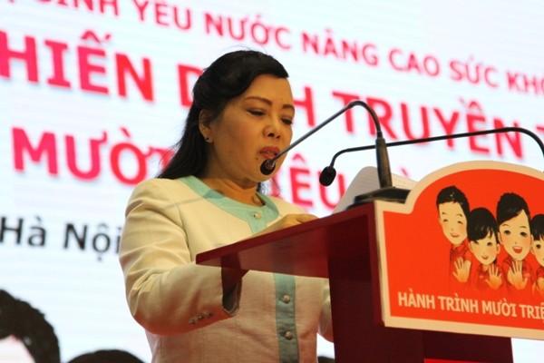 Bộ trưởng Bộ Y tế kêu gọi người dân hãy rửa tay với xà phòng để phòng chống dịch bệnh