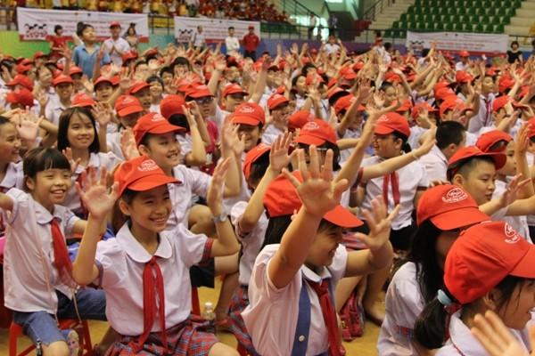 """Gần 2.500 học sinh tiểu học của Thủ đô hưởng ứng lễ phát động Chiến dịch """"Hành trình"""