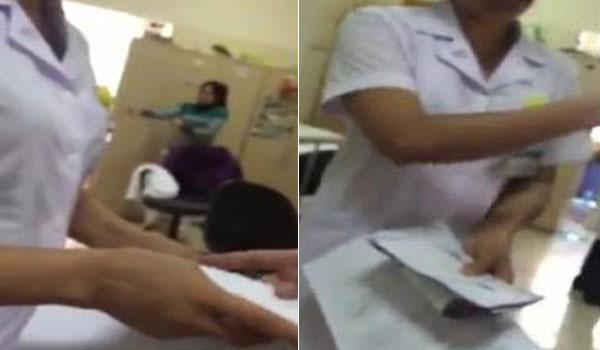 Vụ nhân viên Bệnh viện K nhận phong bì: Mời công an vào cuộc  ảnh 1