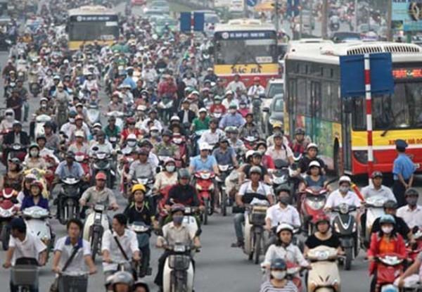 Hà Nội định hướng đến năm 2025 sẽ dừng hoạt động xe máy cá nhân
