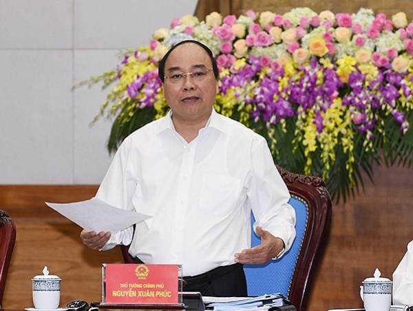 Thủ tướng Chính phủ Nguyễn Xuân Phúc phát biểu khai mạc phiên họp Chính phủ