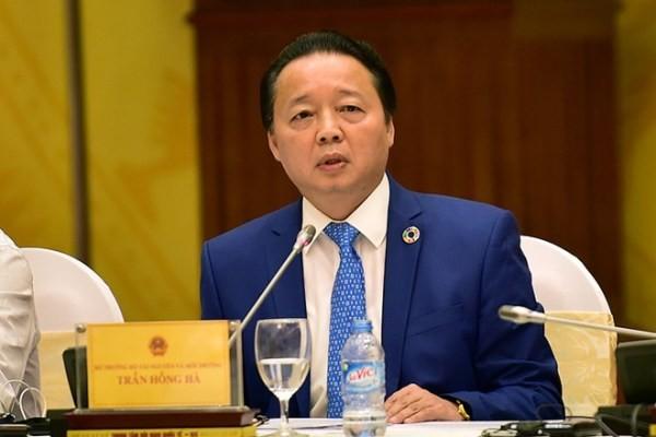 Bộ trưởng Bộ TN-MT Trần Hồng Hà nói về sai phạm của Formosa Hà Tĩnh