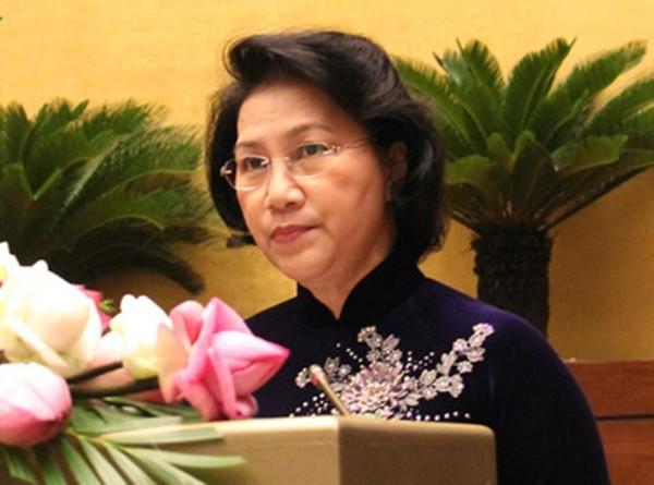 Chủ tịch Quốc hội Nguyễn Thị Kim Ngân phát biểu khai mạc hội nghị