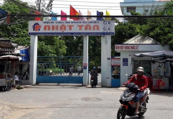 Bệnh viện Đa khoa tư nhân Việt Tân nơi xảy ra vụ việc trẻ sơ sinh bị gãy chân sau mổ đẻ