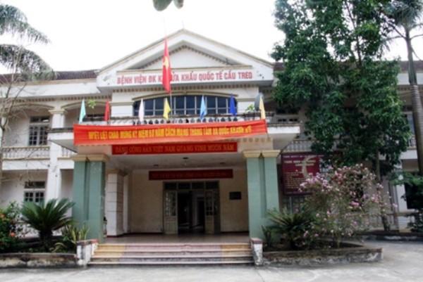 Bệnh viện Đa khoa cửa khẩu quốc tế Cầu Treo nơi bệnh nhân Trà đến khám ban đầu