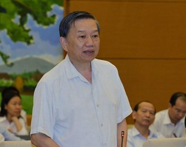 Bộ trưởng Bộ Công an Tô Lâm