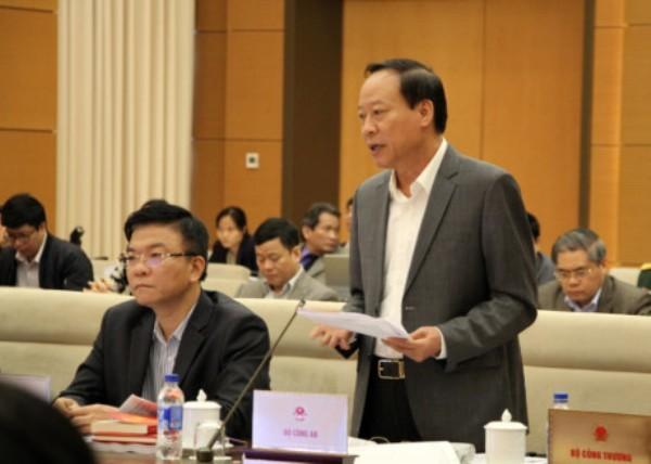 Thứ trưởng Bộ Công an Lê Quý Vương góp ý về dự án Bộ luật hình sự (sửa đổi)