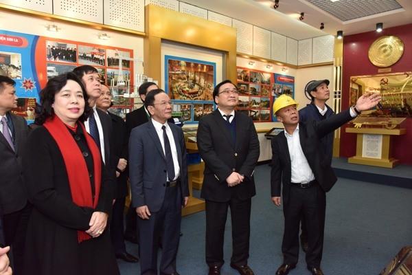 Đoàn công tác thành phố Hà Nội thăm Nhà máy Thủy điện Sơn La