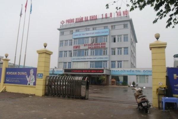 Sáng nay, 7-3, Phòng khám Đa khoa 168 Hà Nội không tiếp đón bệnh nhân