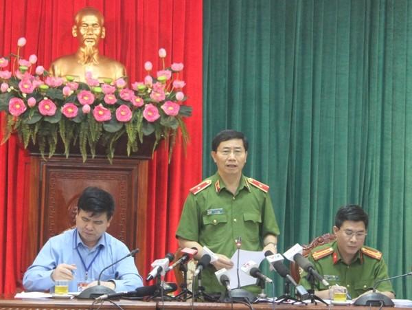 Thiếu tướng Hoàng Quốc Định, Giám đốc Cảnh sát PCCC Hà Nội trả lời báo chí