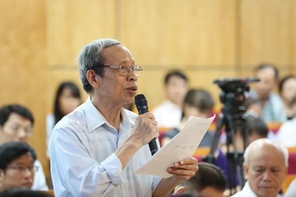 Cử tri Hà Nội đề nghị Tổng Bí thư cho ý kiến về việc kỷ luật ông Đinh La Thăng ảnh 3
