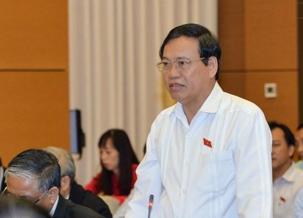 ĐB Vũ Trọng Kim, Ủy viên Ủy ban Tư pháp của Quốc hội góp ý
