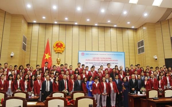 Hà Nội tặng Bằng khen, thưởng mỗi vận động viên đoạt Huy chương vàng SEA Games 55 triệu đồng ảnh 5