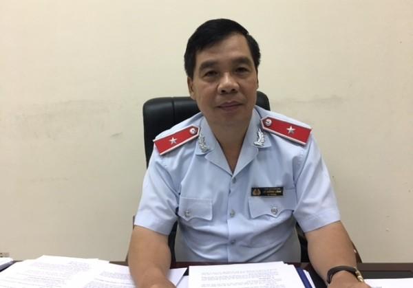 Ông Lê Hồng Lĩnh - người phát ngôn của Thanh tra Chính phủ trả lời báo chí