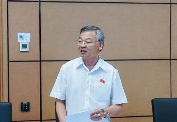 ĐBQH Hồ Văn Năm phát biểu thảo luận tổ tại Quốc hội