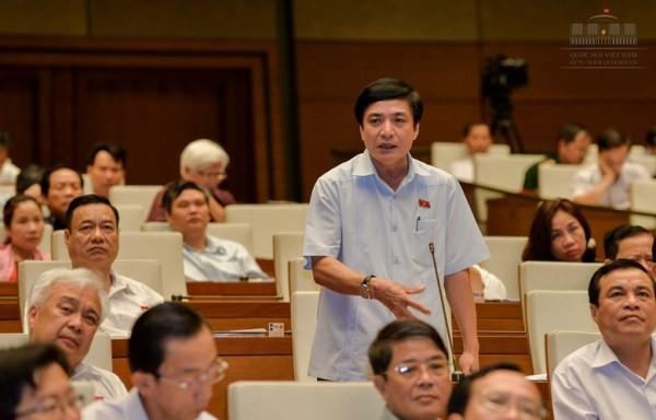 ĐB Bùi Văn Cường, Chủ tịch Tổng LĐLĐ Việt Nam phát biểu tại Quốc hội