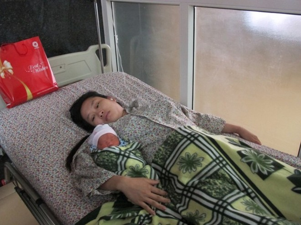 Hai mẹ con chị Nguyễn Thị Tuyết dự kiến sẽ được xuất viện trong vài ngày tới