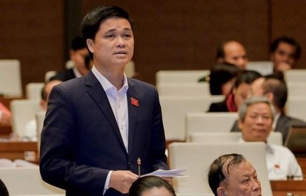 ĐBQH Ngọ Duy Hiểu (Hà Nội) phát biểu tại Quốc hội